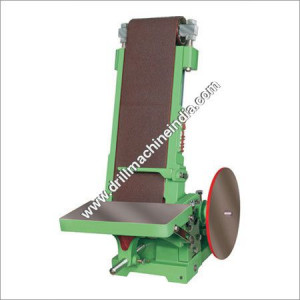 Abrasive Belt & Disc Sander Machine
