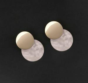 Acrylic Dangler Earrings