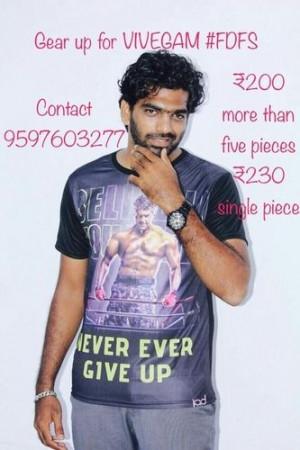 Vivegam T Shirts