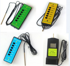 Multi-color Portable Fence Voltage Tester