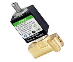 2 Station 3 Ways 12VDC-240VAC Brass Solenoid Water Valve