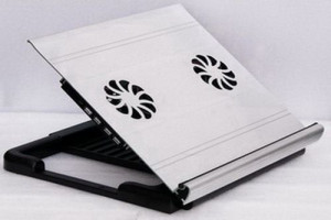 iDock A1 (50304) Adjustable Notebook/Laptop Stand With Cooling Fans And USB Hub