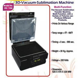 3D Vacuum Sublimation Machine