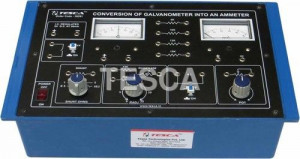 Conversion of Galvanometer Into An Ammeter
