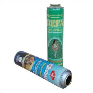 Aerosol Insect Spray Can
