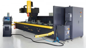 5-Axis CNC Industrial Profile Machining Center KT-5AX