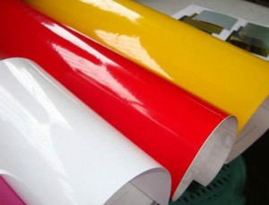 Vinyl Gumsheet Adhesive Paper
