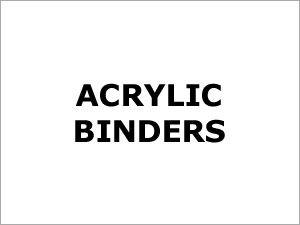 Acrylic Binders