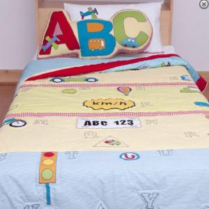 ABC Car Quilt