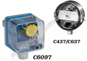 Gas Air Pressure Switches