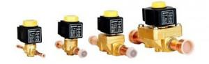 Solder type solenoid valve (HVAC/R parts)