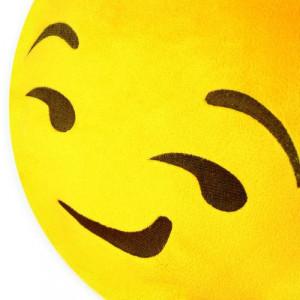 Smirk Cushion Car Pillow