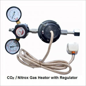 CO2-Nitrox Gas Heator with Regulator