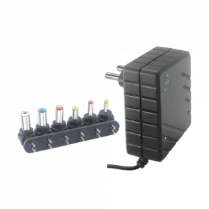 SMPS ADAPTOR WITH POLARITY CORD & DC PLUG SET 2AMP – 3V – 9V