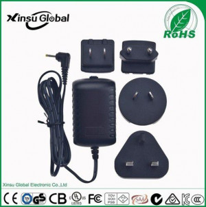 9V 2A AC Adapter with US AU EU UK Plugs