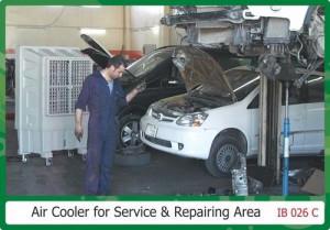 Air cooler For Service & Reparing Area