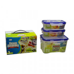 3 Pcs Airtight Container Set