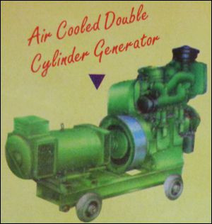 Air Cooled Double Cylinder Generator