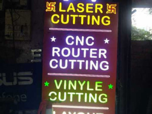 Acrylic LED Display Boards