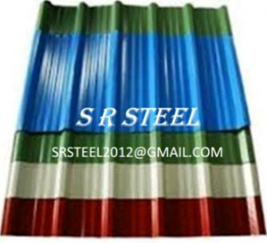 SR Hi Rib Color Coated Roofing Sheet