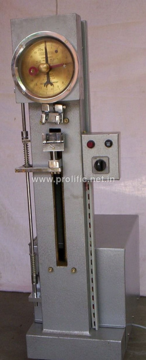 Adhesion Teser with spring dynamometer (Motorised)