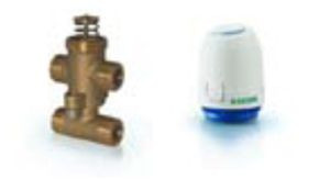 Zone Valves With Thermal Actuator