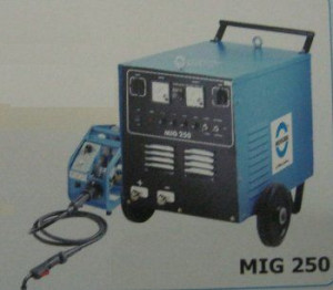 Diode and Thyristorised Controlled Welding Machine (MIG 250)