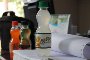 Aerated Drinks with Lemon Flavoured