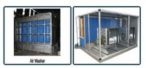 Air Washer Unit for Pollution Control