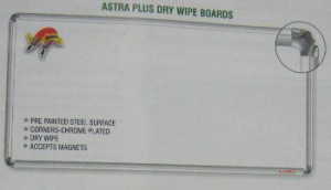 Astra Plus Dry Wipe Boards