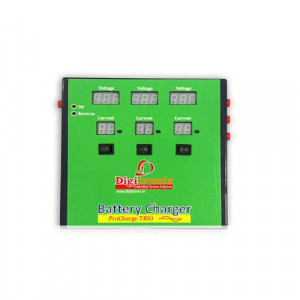 Multi Battery Charger 3 x 12V / 2.8 Amp