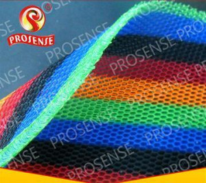 Prosense Cross Knitted Small Hole 3D Air Mesh Fabric (Rainbow)