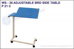 Adjustable Bed Side Table