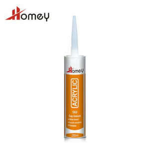 Homey 560 Excellent Gap Filling Mildrew Acrylic Liquid Nail