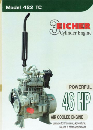 Eicher air cooled engine