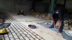 Acid Proof Tile Lining Work