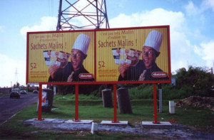 Outdoor Advertising Equipment Trivsion Sign