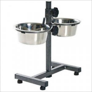 Height Adjustable Dog Feeding Bowl