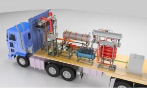 Mobile Vapor Phase Drying Plant