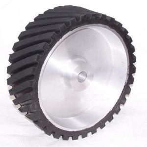 Abrasive Belt Grinder Rubber Wheel