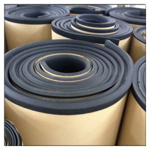 NItrile rolls with adhesive