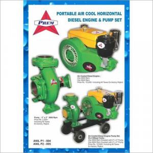 Horizontal Air Cooled Diesel Engine
