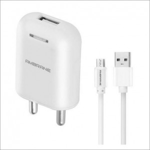 AWC-38 Wall Charger 5V/2.1A (White)