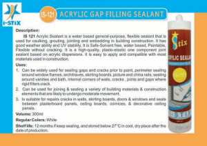 Acrylic Gap Filling Sealant
