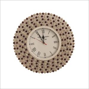 Beaded Design Wall Clock