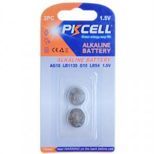 (2B)AG10/LR54/189/L1130 1.5V Alkaline Button Battery