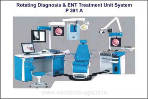 Rotating Diagnosis & Ent Treatment Unit System(Gra
