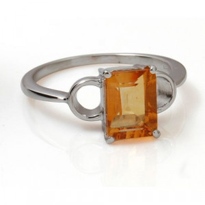 925 silver ring yellow stone silver ring plain silver ring