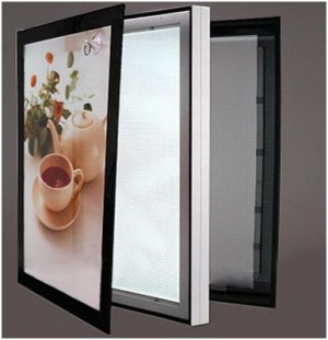 Single LED Acrylic Slim Light Box