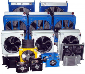 Plate Fin Air Cooled Oil Cooler